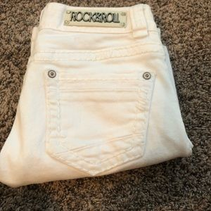 White Rock and Roll Bootcut Jeans